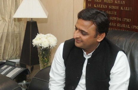 The Chief Minister of Uttar Pradesh, Shri Akhilesh Yadav